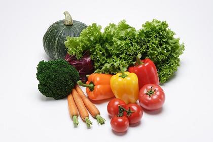 野菜たっぷりメニュー